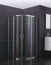 CAML double sliding glass door frame shower room
