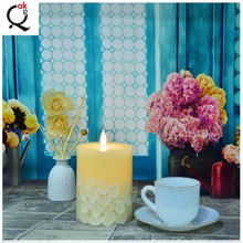 custom design religious incense candle flameless battery wax candle Made in China/