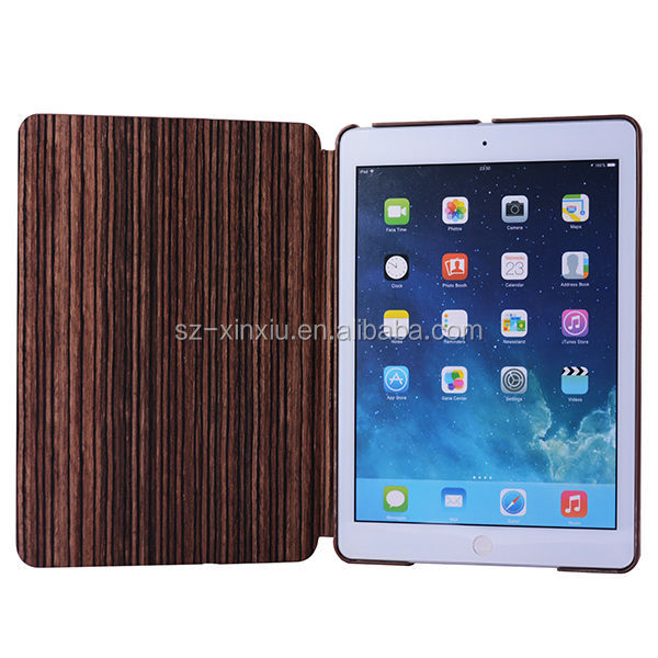 High quality PU leather case for Apple ipad Air case