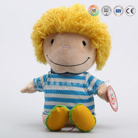 OEM customized plush doll china wholesale(ICTI audited)