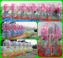 High quality 1.0mm PVC/TPU bubble soccer/inflatable bubble football