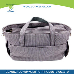 Lovoyager High Quality Blue Pu Dog Bag for Small Dog