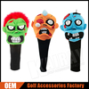 Custom Zombie Golf Head Covers - Unique Halloween Crazy Golf Head Covers