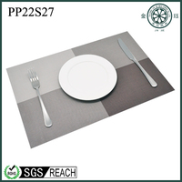 PVC plastic printing cork decorative placemat