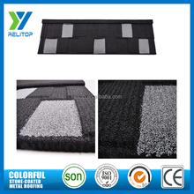 Shingle type stone install tile roof