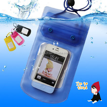 compatible brand wholesale transparent PVC waterproof cell phone bag