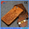 2015 New Arrival OEM ODM Bamboo Wood Case For iPhone 6 and 6 Plus
