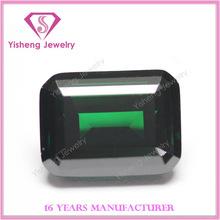 wuzhou synthetic emerald rough cz stone gems wholesale