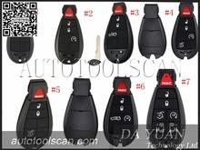 Auto Remote Control For Chrysler JEEP DODGE 2-6 button Smart Remote Key 315MHZ ID46 AK015036