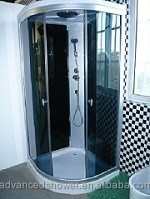Bathroom Prefab Free Standing Glass Shower