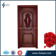 2015 Latest Design Solid engineered oak main entrance wooden doors