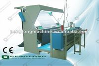 Knitted Fabric inspection machine with fabric cutting machine