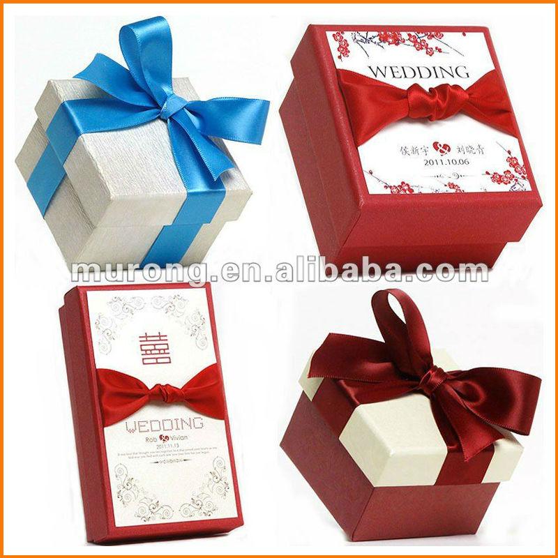 Wholesale Wedding Gift Box With BowBuy Gift Box,Wedding Gift Box ...