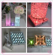 Decorations items DIY your wedding event and anniversary 4 inch under vase light base Party Favor