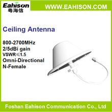 806-960/1710-2700MHz 2/5dBi small beauty indoor omni antenna