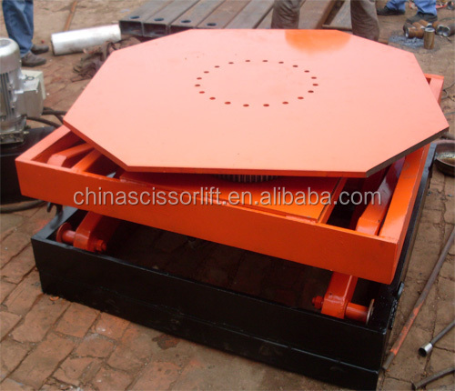 Ce Certified Rotating Platform Motorized Rotating Platform