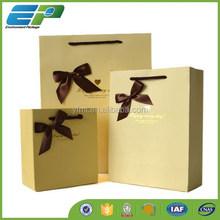 Fancy Hot Sale Kraft Paper Gift Bag