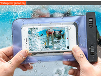 2015 NEW pvc phone waterproof case/cell phone waterproof dry bag/floating waterproof phone bag