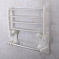 1905 sq white ceramic bathroom adjustable towel bar