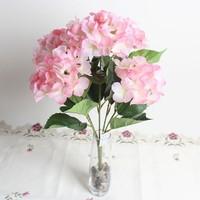 Artificial flower plastic hydrangea decorative hydrangea flowers for sale