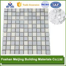 good quality base white wood finish powder coating machine for glass mosaic