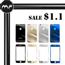 Mirror Color 9H Hardness Tempered glass Screen Protector For iphone 5/5s