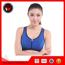 Wholesale Polyseter and Spandex Women Sport Stylish Sexy Yoga Bra