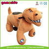 AT0615 children electric toy car price plush riding animals plastic riding horse