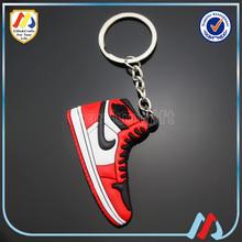 3d pvc jordan keychain