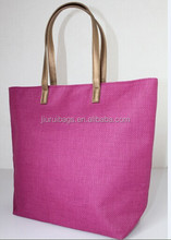New pattern shopping 12OZ canvas tote bag with printing lining