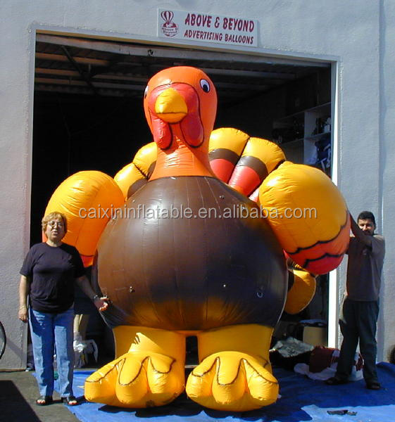 inflatable Turkey for advertising,custom inflatable turkey /inflatable advertising goods