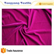 China textile and material dress velvet fabric 5000 for woman