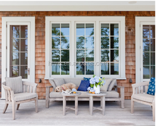 Top Quality Aluminum Casement Doors Window Grills Design Pictures factory supply