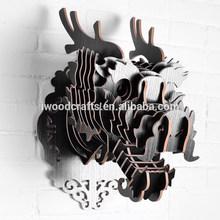decorativos gragon cabeza de decoración de la pared