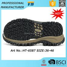 Special Design Tear Resistant Shoe Sole Climbing Non Slip Natural Rubber Sole Shoes