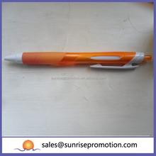 Orange promotional hot banner pen