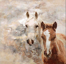 High Quality Oil Painting of Horse on canvas for wall decoration