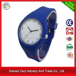 R1096 Good quality watch gift case, fashion soft silicone strap women sport watch