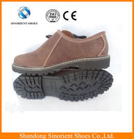 Lightweight mens crazy horse leather safety shoes to Germany,Good looking Casual shoes water resistant working shoes SNF5013A