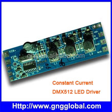 G&G 350~700 mA 3 channel dmx Decoder with Built LED Driver Dimmer Color