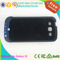 For Samsung Galaxy S3 Battery Case With Kickstand
