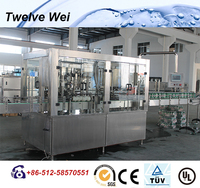 Industrial Manufacturing Automatic Carbonated Water Filling Line