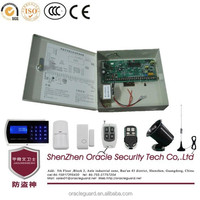 110G 32 Wireless Defence Zone 4 Set Tel 5 Mobile Number Metal GSM Alarm System
