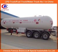 Hot sale 56000 Liters propane butane Gas tanker semi trailer lpg tanker trailer in Dubai