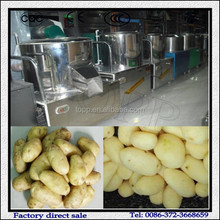 Industrial Practical Healthy Patato Peeling And Slicing Machine