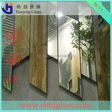 China sheet glass aluminum mirror fashion 1.8mm