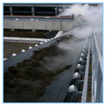 Heat resistant conveyor belt for sintered ore plant burning materials