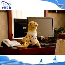 Factory custom gift 100% pp stuffing simulation seals stuffed animal baby animal stuffed plush toy