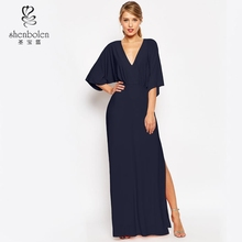 fashion pretty and elegant party women's high quality maxi evening dresses