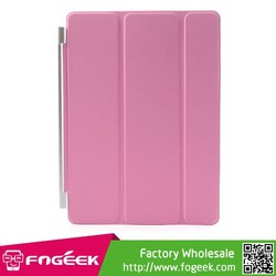 Tri-Fold Single Front Smart Leather Skin Cover w/ Stand for iPad Air 2